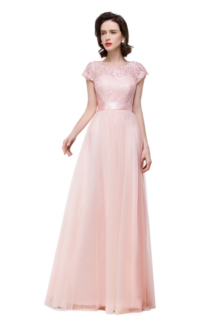 Designer Abiballkleider Günstig | Abendkleid Lang Rosa