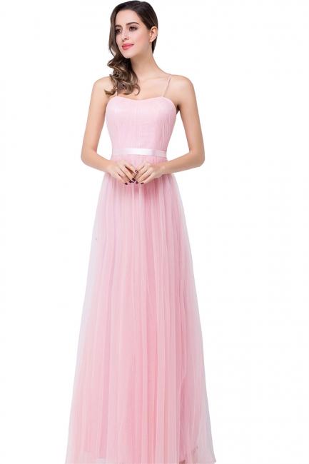 Schlichtes Abiballkleid | Abendkleider Lang Rosa