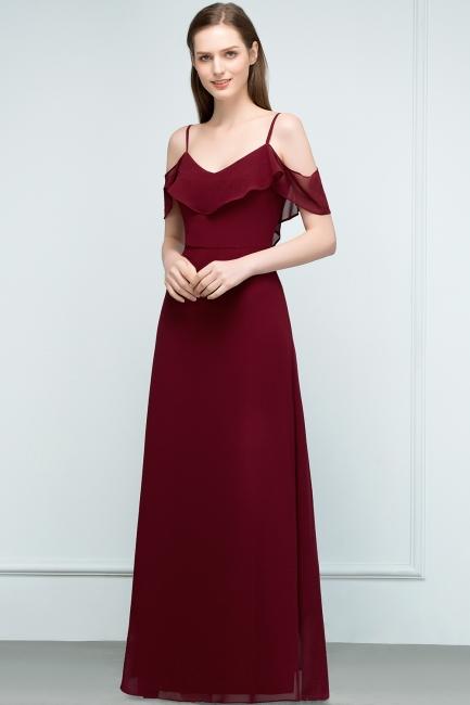Schlichtes Abendkleid Rot   Festliche kleider Online