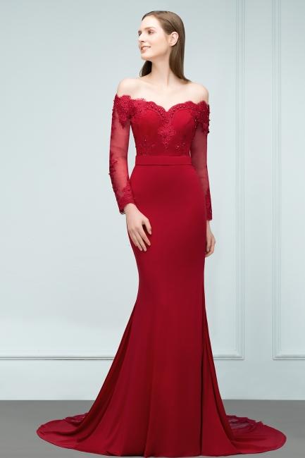 Wunderschöne Abendkleider Lang Mit Ärmel   Abendmoden Online