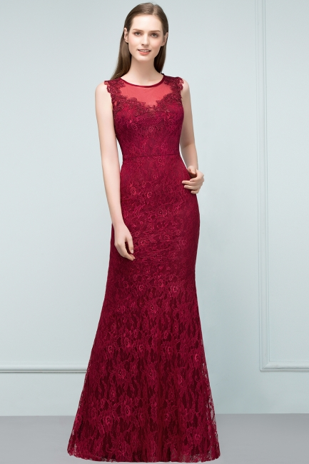 Wunderschöne Abendkleider Günstig | Abiballkleider Lang Rot