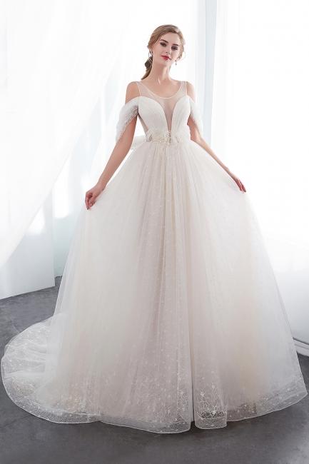 Umstands Hochzeitskleid Schlicht | Brautkleider A Linie
