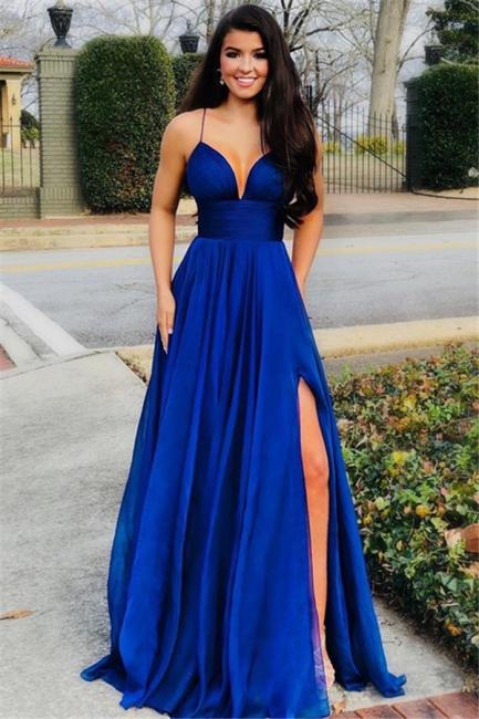 Festliche Kleider Abendkleider Lang Blau Günstig Online Kaufen
