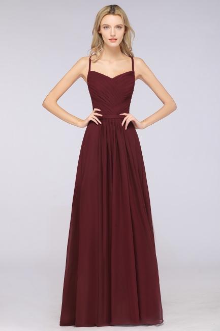 Schlichtes Abendkleid | Brautjungfernkleider Lang Günstig