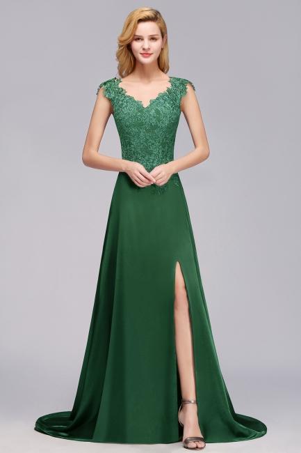 Schöne Abendkleider Dunkel Grün | Abendmoden Online