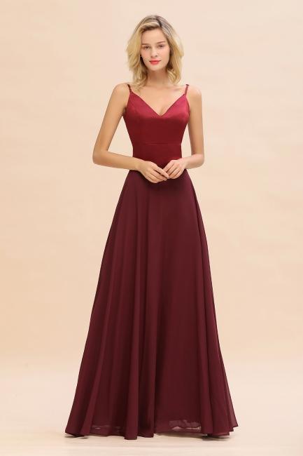 Brautjungfernkleider Weinrot | Günstige Kleider Online Kaufen