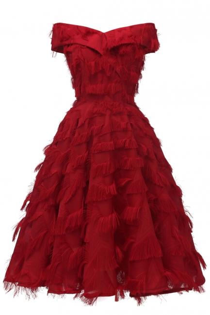 Rote Abendkleider Kurz   Cocktailkleider Günstig Online