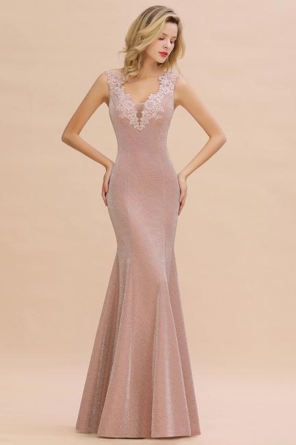 Abendkleider Lang v Ausschnitt | Abiballkleider Rosa Günstig
