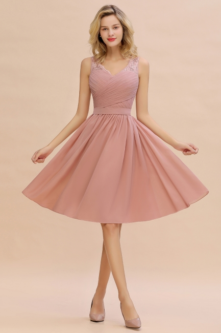 Abendkleid lang Rosa | Abendbekleidung Damen Günstig