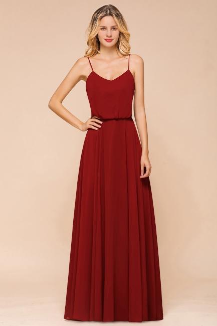 Rote Brautjungfernkleider Lang | Kleider Für Brautjungfern Günstig