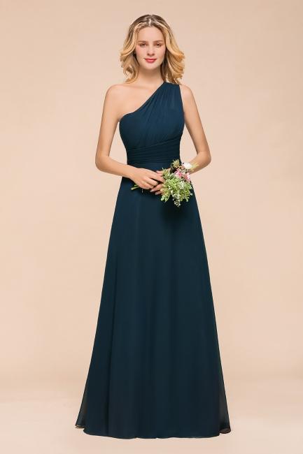 Brautjungfernkleider Dunkel Grün   Chiffon Kleider Zur Hochzeit