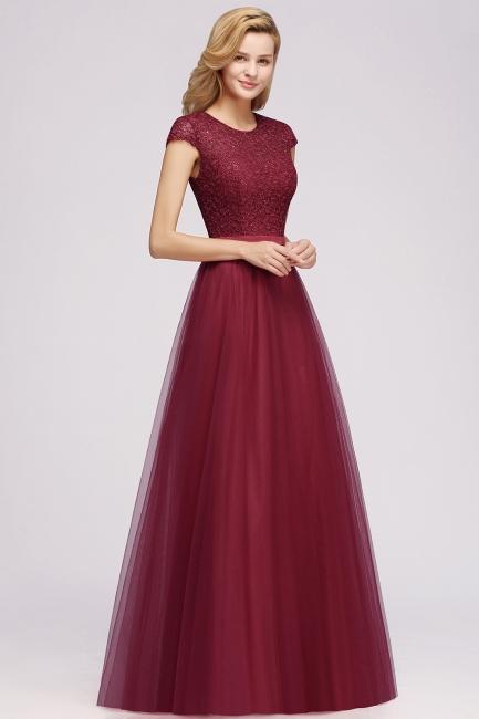 Abendkleid Rot Lang Günstig | Langes Kleid Spitze