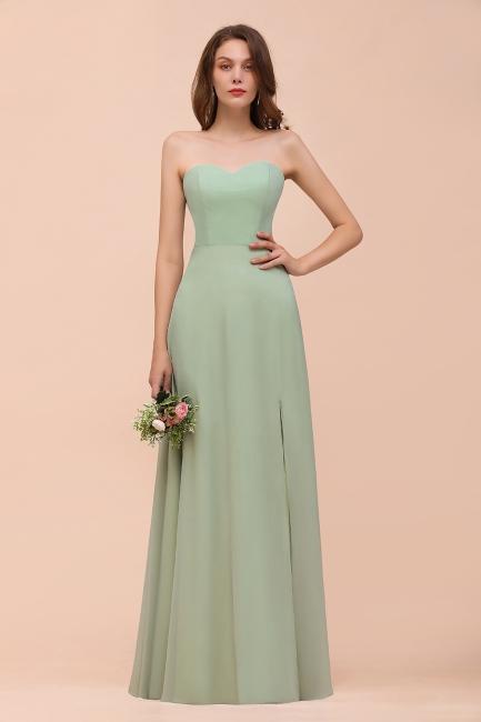 Brautjungfernkleider Mint | Chiffon Kleider Brautjungfernkleid