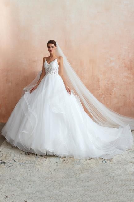 Designer Hochzeitskleider Standesamt   Brautkleid Prinzessin