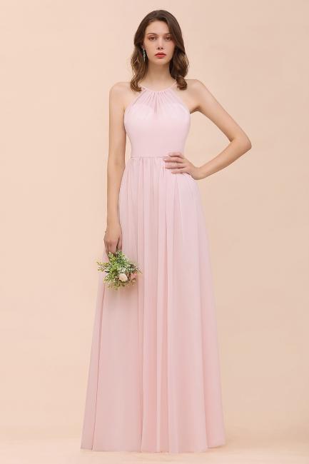 Brautjungfernkleider Rosa   Brautjungfernkleid Lang Günstig