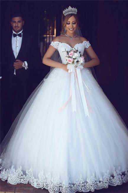 Elegante Brautkleider A Linie   Hochzeitskleider Mit Spitze
