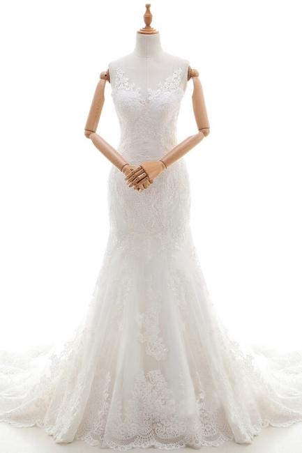 Designer Hochzeitskleider Meerjungfrau | Brautkleid Spitze Online