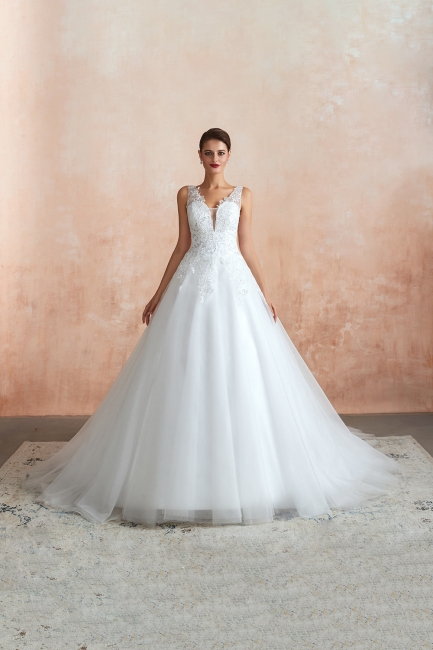 Sexy Brautkleid A Linie   Hochzeitskleider Standesamt