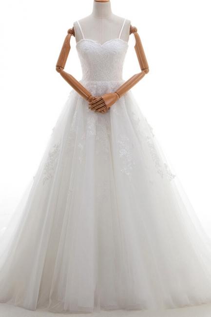 Fashion Hochzeitskleid A linie | Brautmoden mit Spitze