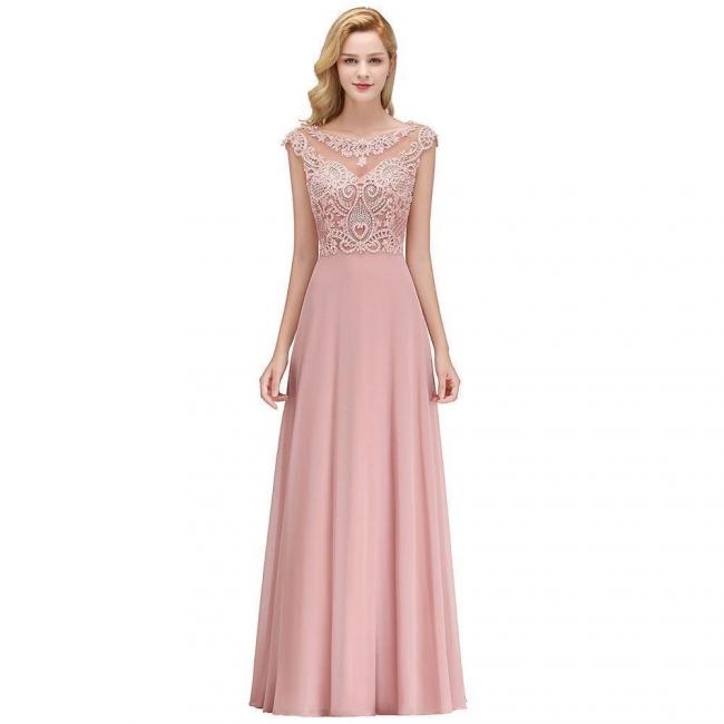 Abendkleider Lang Rosa | Abendmoden Online