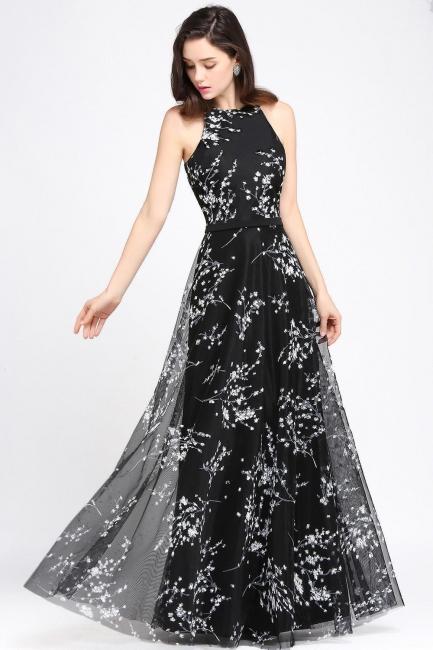 Elegante Abendkleider Lang Schwarz   Abiballkleider Günstig