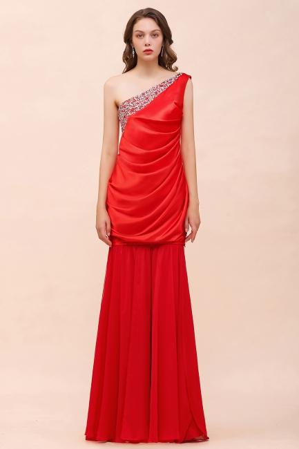 Rote Brautjungfernkleider Lang | Kleider für Brautjungfern