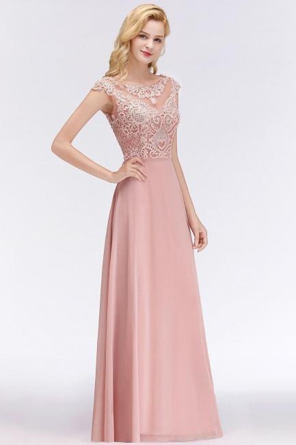 Abendkleider Lang Rosa   Abendmoden Online