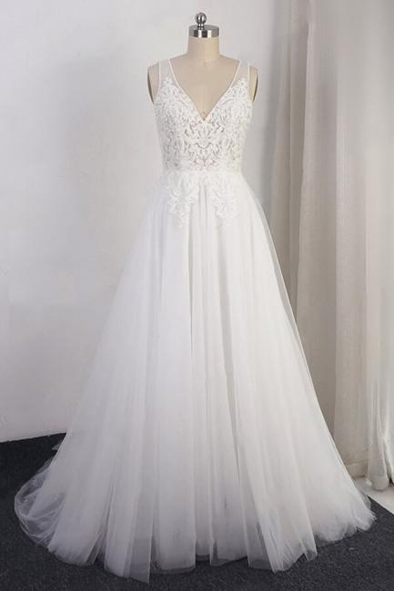 Designer Brautkleid A Linie | Hochzeitskleid Günstig Online