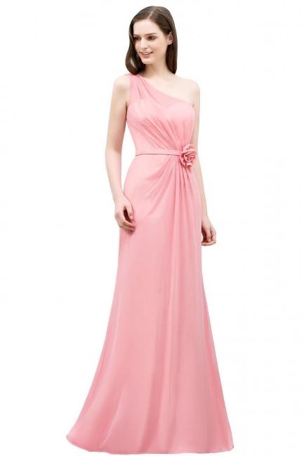 Abendkleid Lang Rosa | Abiballkleider Chiffon