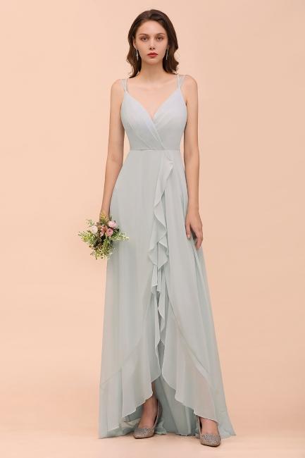 Brautjungfernkleider Lang Günstig   Kleider Chiffon Für Brautjungfern
