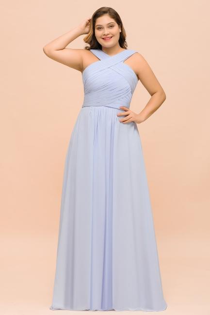 Abendkleider Große Größen | Brautjungfernkleider Lang Lilac