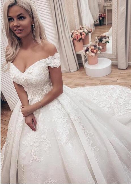 Hochzeitskleider Prinzessin Luxus   Brautkleid Spitze