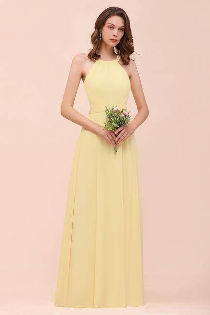 Schöne Brautjungfernkleider Günstig | Chiffon Kleider Lang