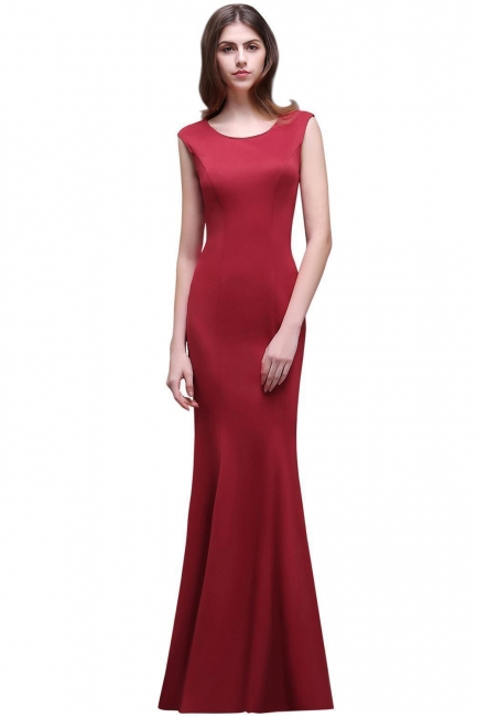 Elegante Abendkleider Lang Rot   Abiballkleider Günstig