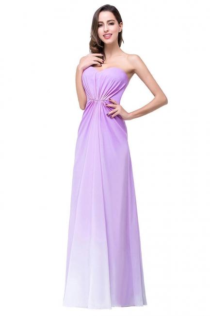 Lavender Abendkleider Lang Günstig   Schlichtes Abiballkleid