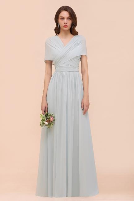 Brautjungfernkleider Lang Chiffon | Kleider für Brautjungfern