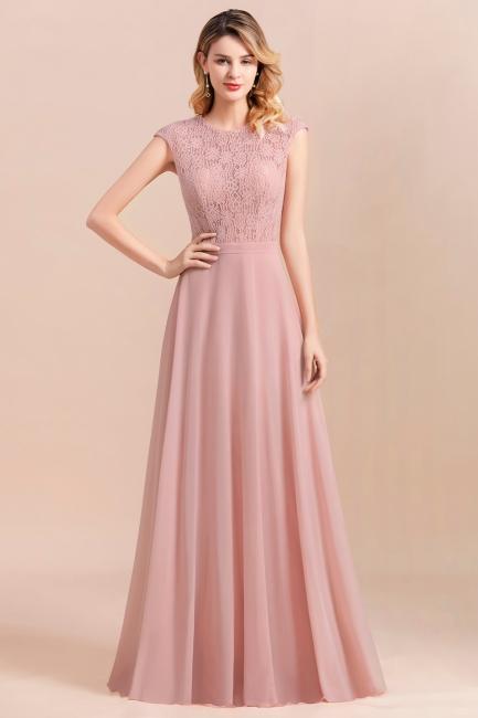 Brautjungfernkleider Lang Altrosa   Kleider für Brautjungfern günstig