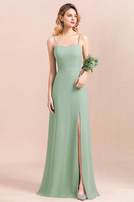 Brautjungfernkleider Mint | Chiffon Kleider Abendkleider Online