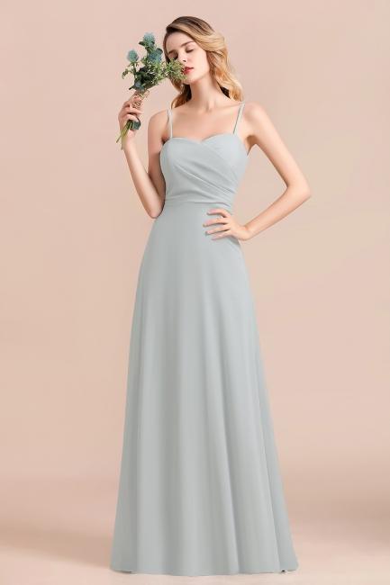 Elegante Brautjungfernkleider Lang Günstig | Hochzeitspartykleider Chiffon