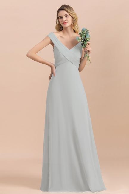 Brautjungfernkleider Lang Mint | Günstiges Brautjungfernkleid