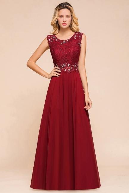 Abendkleid Rot Lang Spitze | Abendmode Günstig Online Kaufen