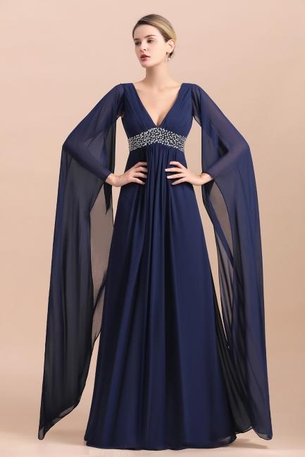 Schöne Brautjungfernkleider mit Ärmel | Abendmoden Online