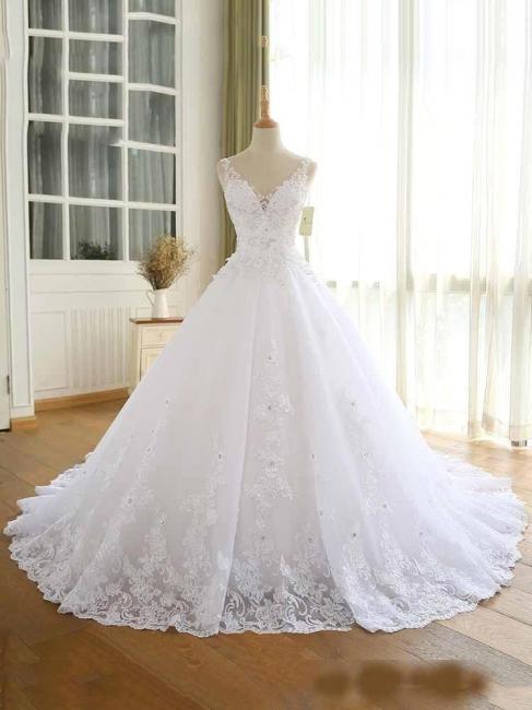 Elegante Hochzeitskleider Prinzessin | Ausgefallene Brautkleider