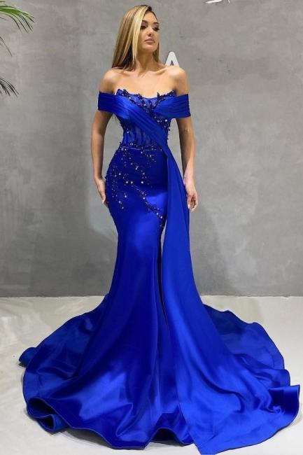 Abendkleider Lang König Blau | Günstige Abiballkleider Kaufen