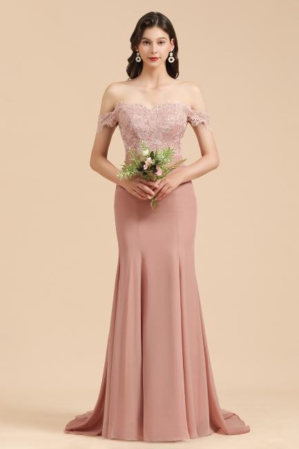 Brautjungfernkleider Altrosa | Hochzeitspartykleider Für Brautjungfern Günstig
