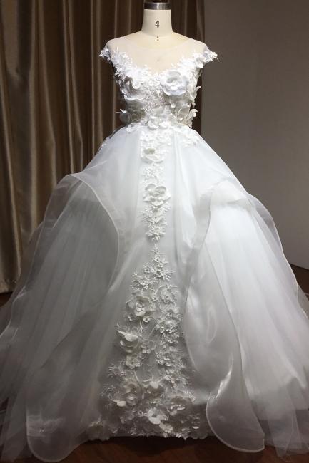 Schöne Hochzeitskleider Prinzessin | Brautkleider Günstig Online kaufen