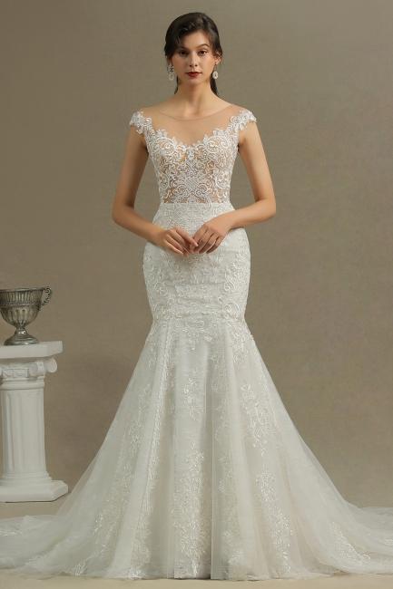 Moderne Hochzeitskleider mit Spitze | Brautkleider Meerjungfrau