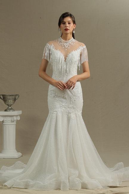 Brautkleider Meerjungfrau Spitze   Hochzeitskleider Günstig