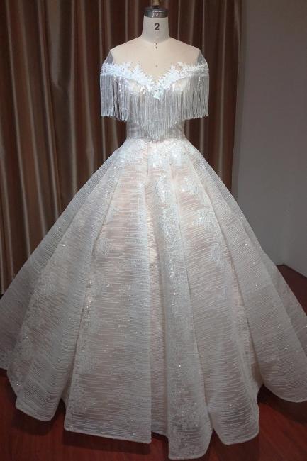 Schicke Hochzeitskleider A Linie | Brautkleider Mit Spitze