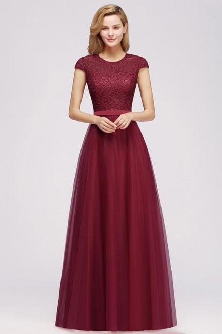 Abendkleid Rot Lang Günstig   Langes Kleid Spitze